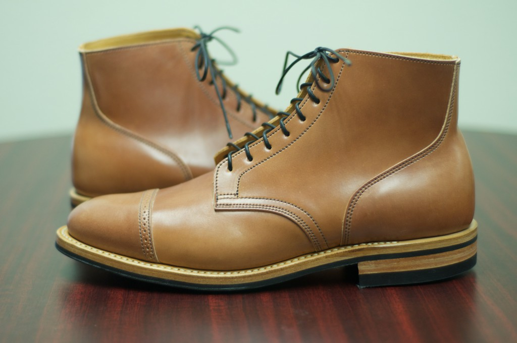 56fd8befc5a SOLD: Viberg Natural Shell Cordovan Service Boot – Viberg Size 10 ...