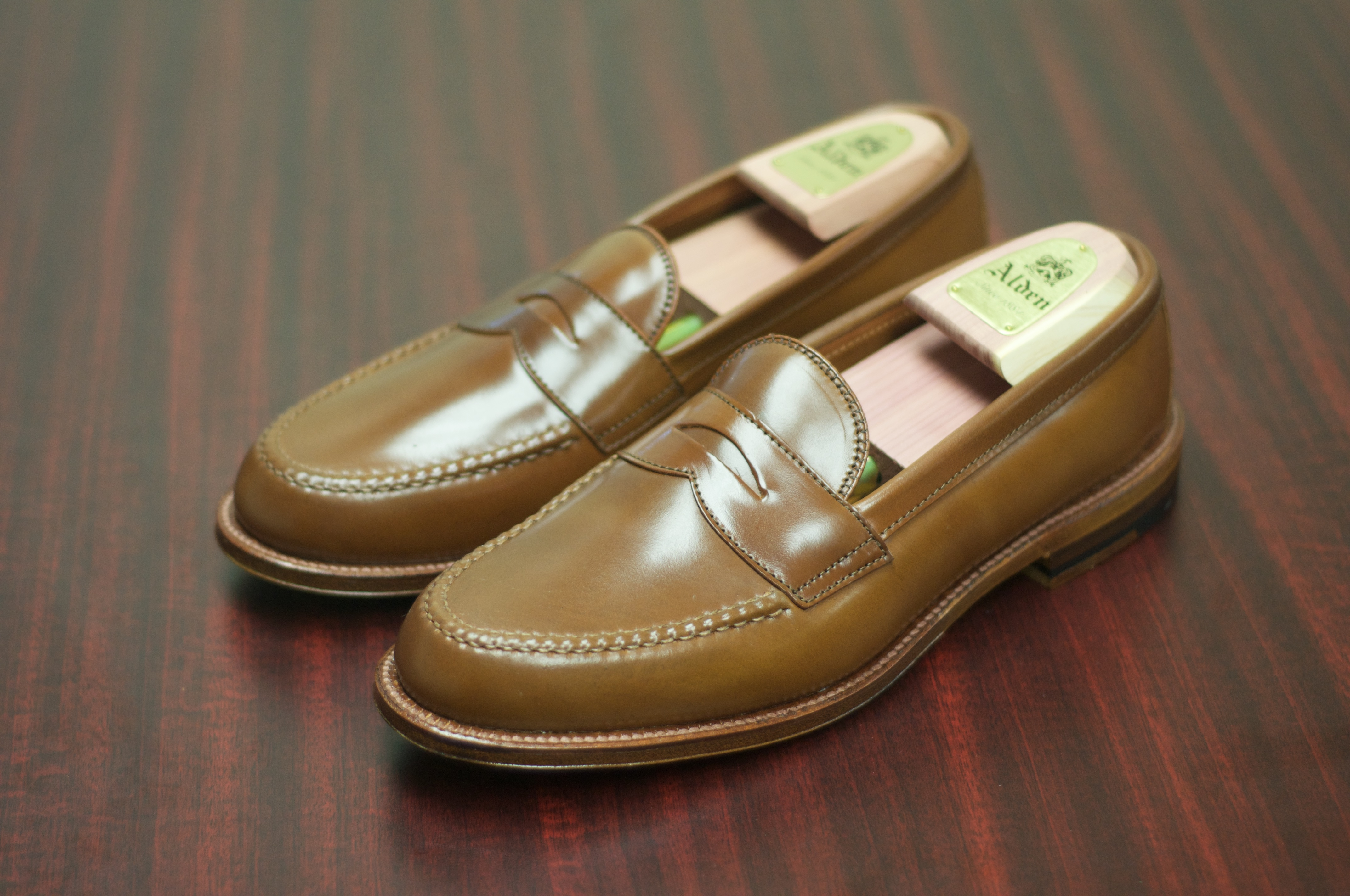 Alden Whiskey Shell Cordovan Leisure Handsewn Alden Of