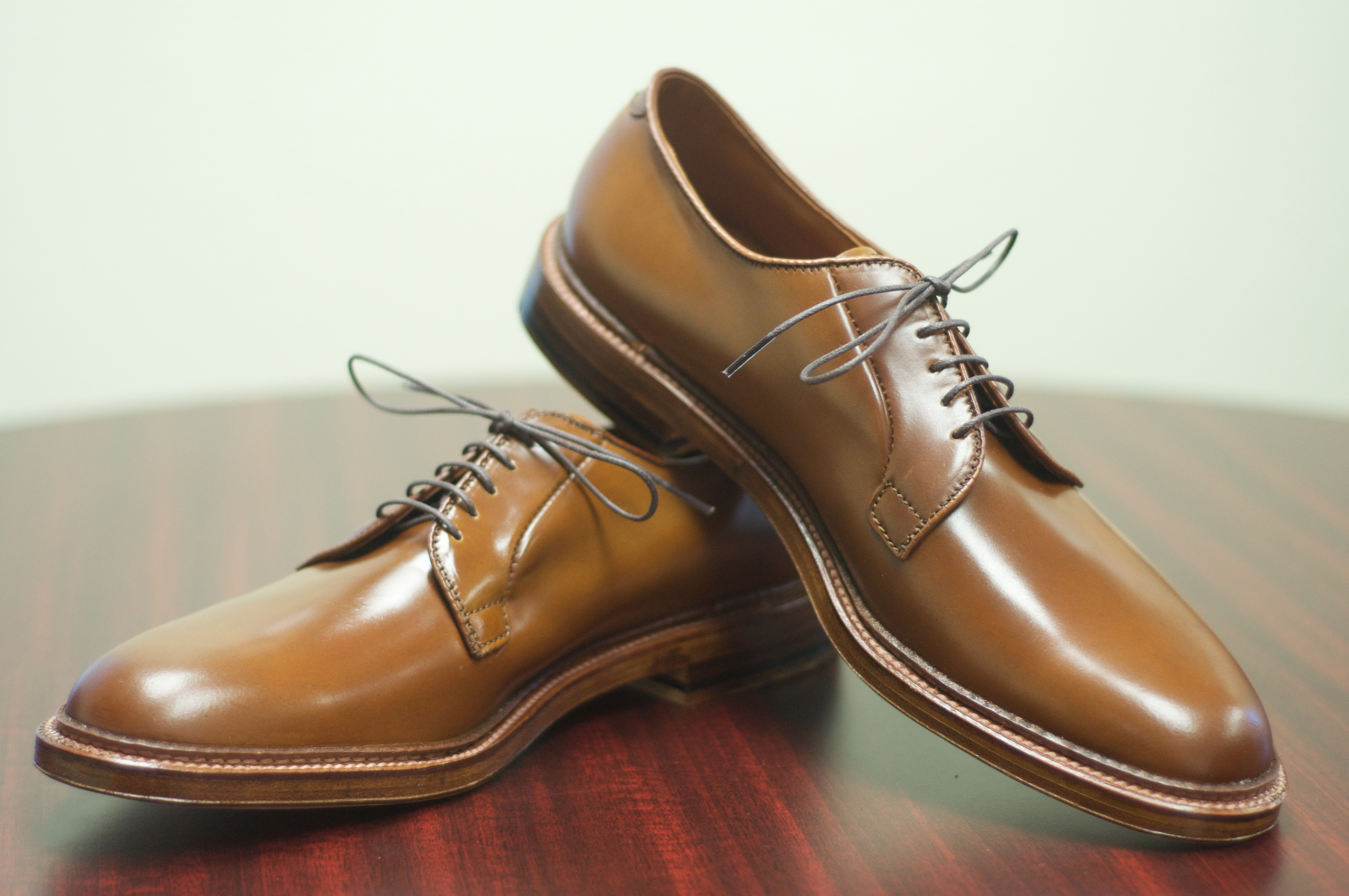 Whiskey shell cordovan alden of san diego for The alden