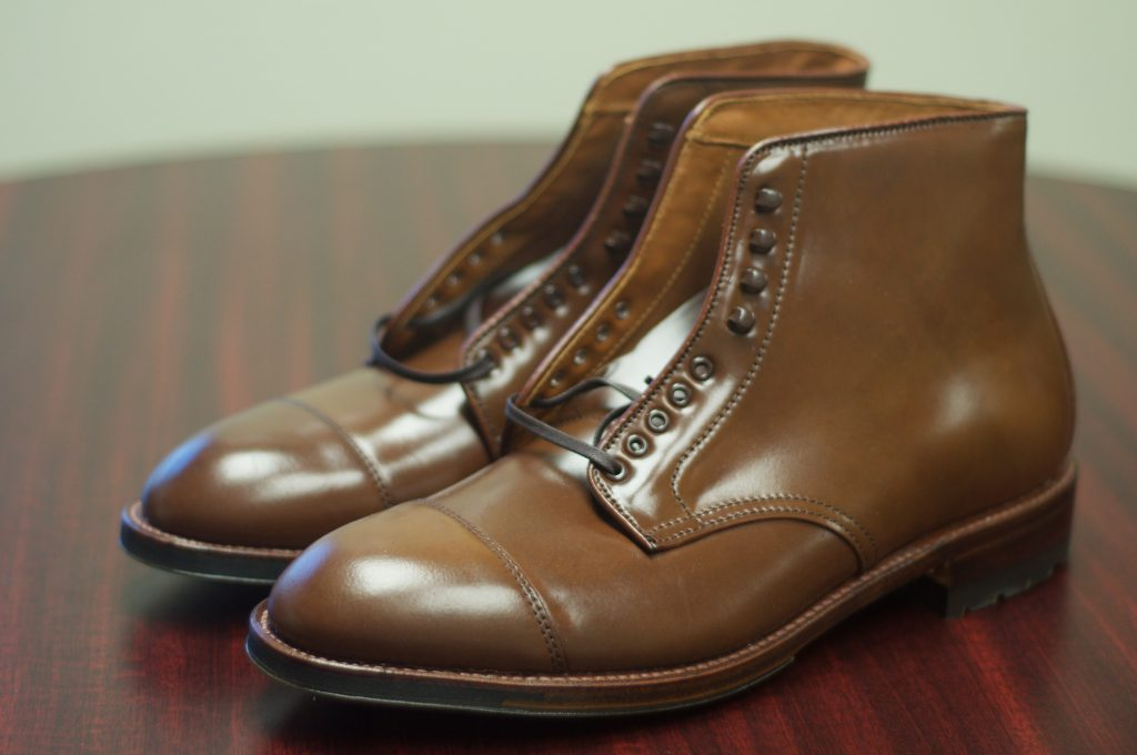 Sold Alden Ravello Shell Cordovan Cap Toe Boots 10 5c
