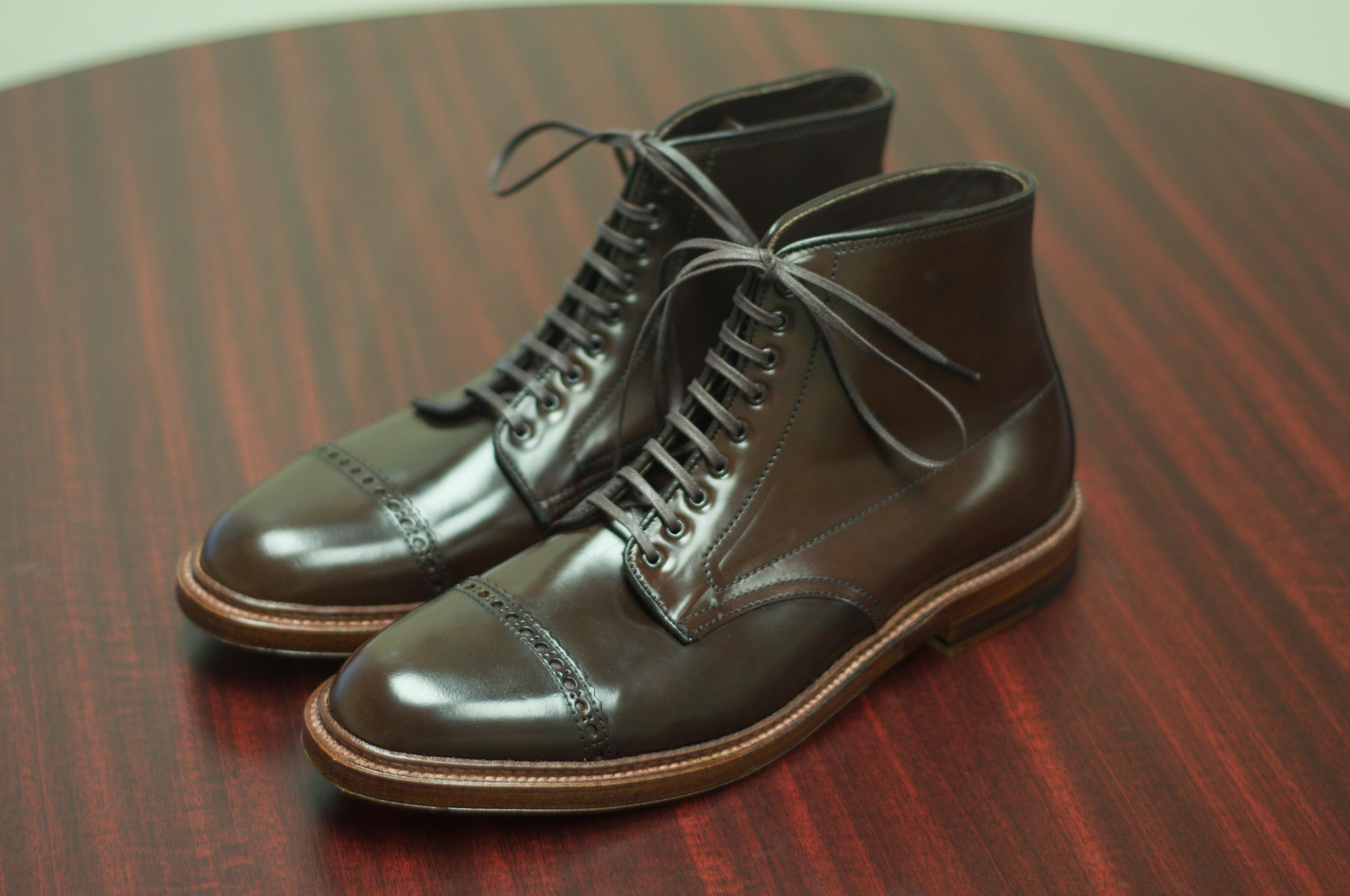 549f15be671 Alden Cigar Shell Cordovan Jumper Boots – Alden of San Diego
