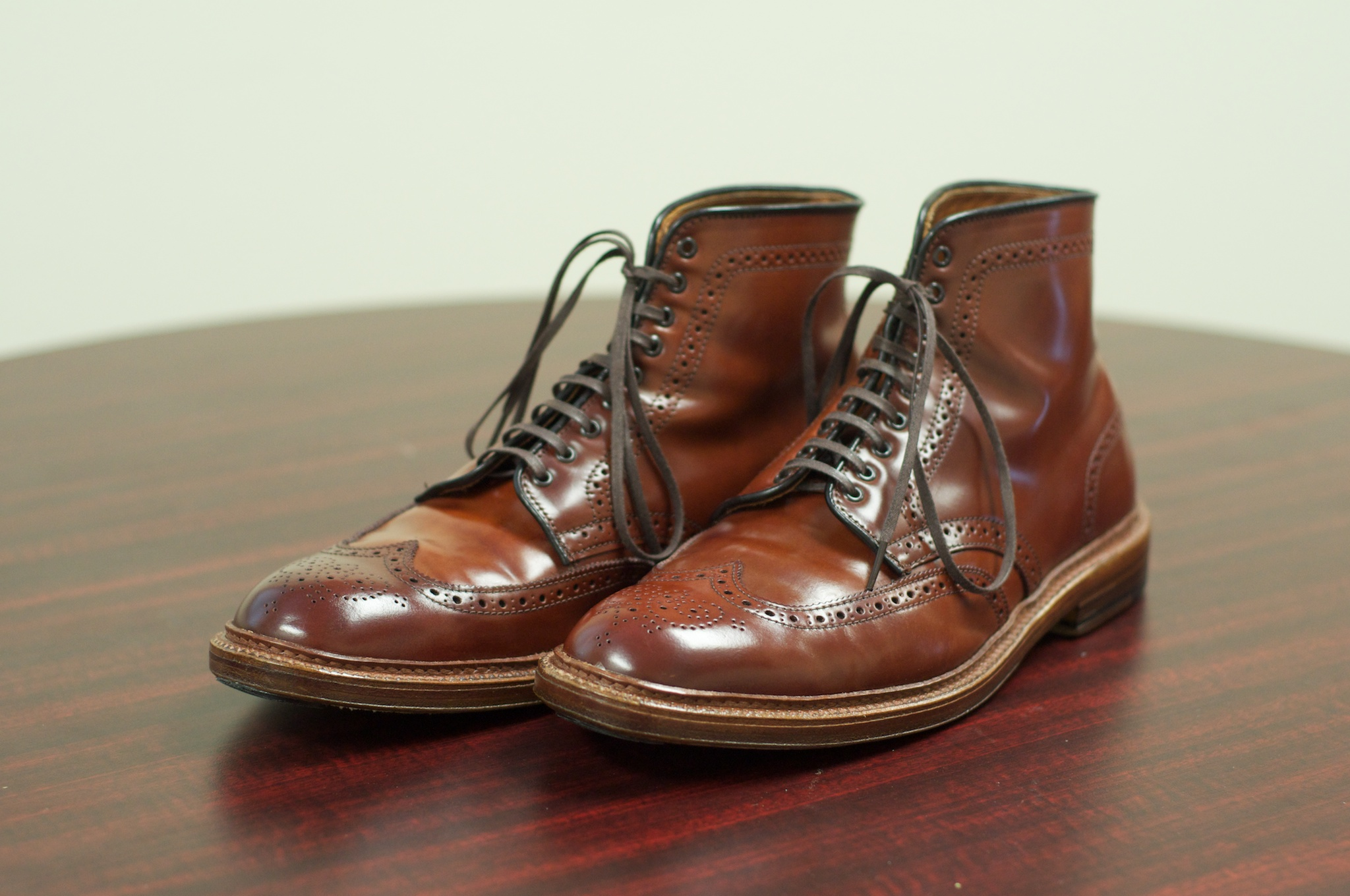The color 4 wingtip boot alden of san diego for The alden