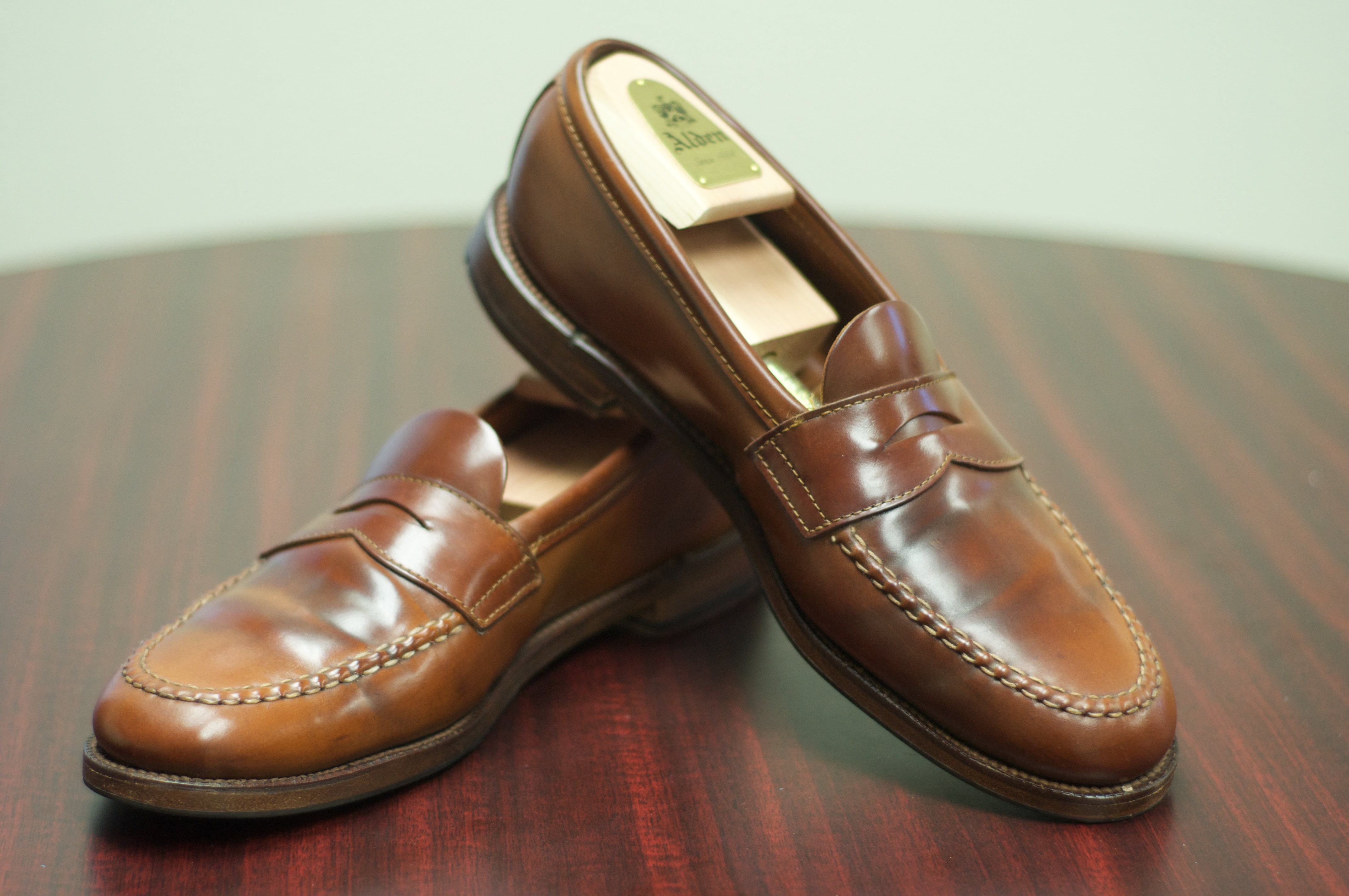 6b1a82e8a0118 The Ultimate Whiskey S Cordovan Penny Loafer Alden Of San Go