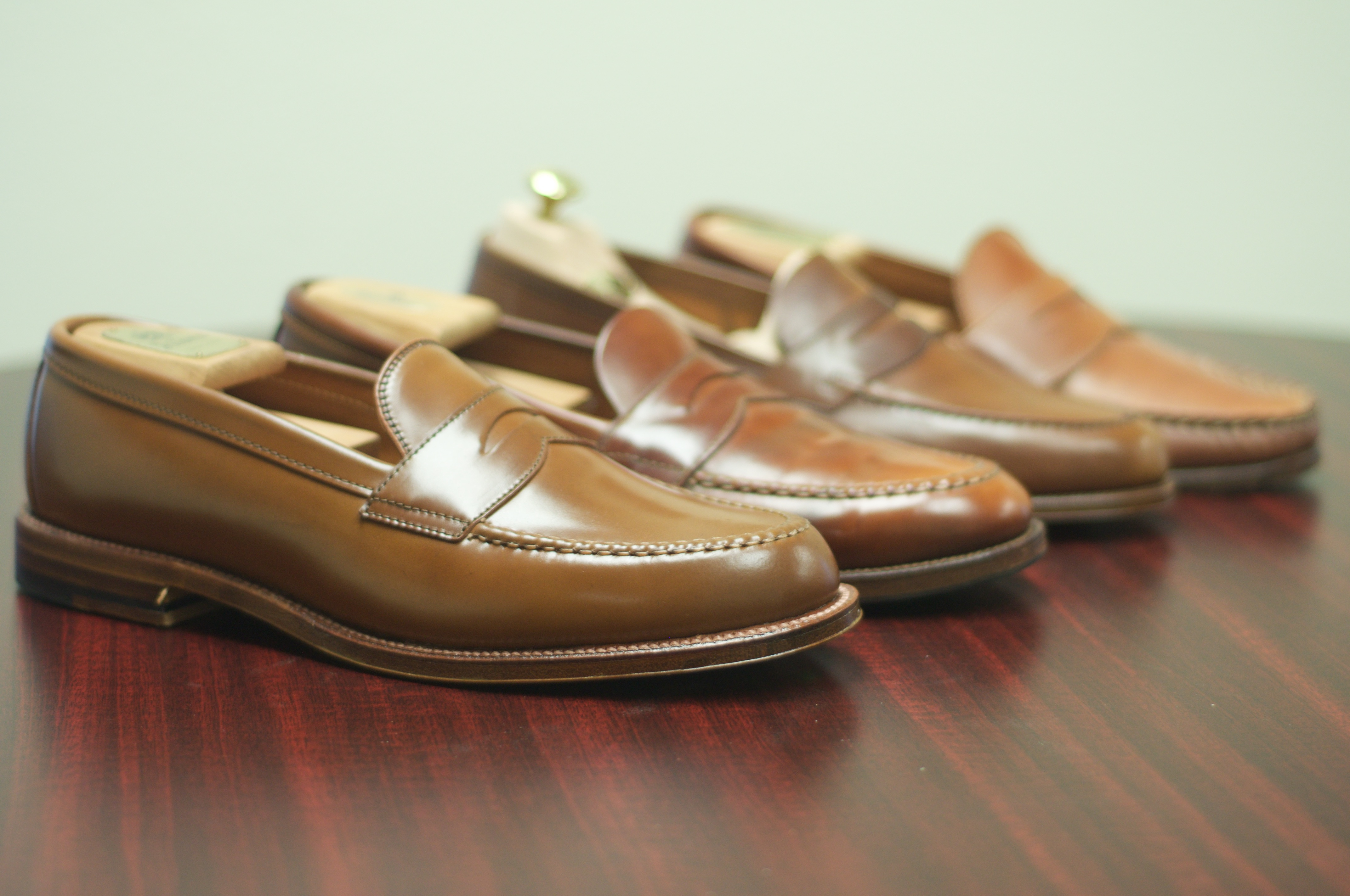 ff0c7e31b2a The Ultimate Whiskey Shell Cordovan Penny Loafer – Alden of San Diego