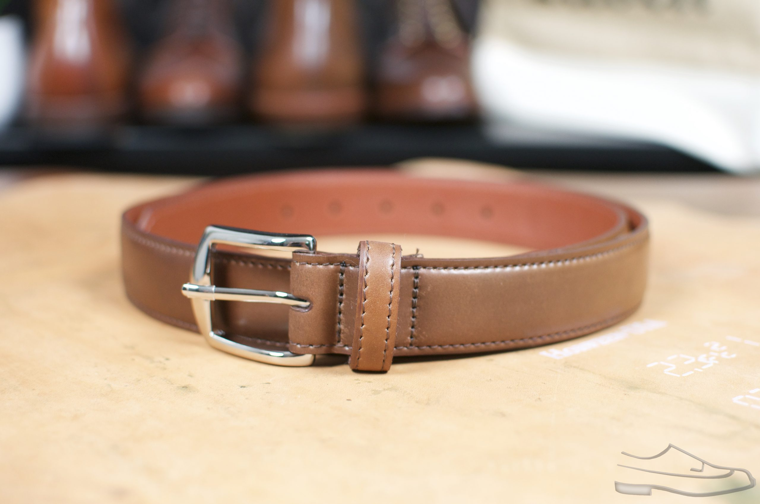 Alden Ravello Shell Cordovan Belt
