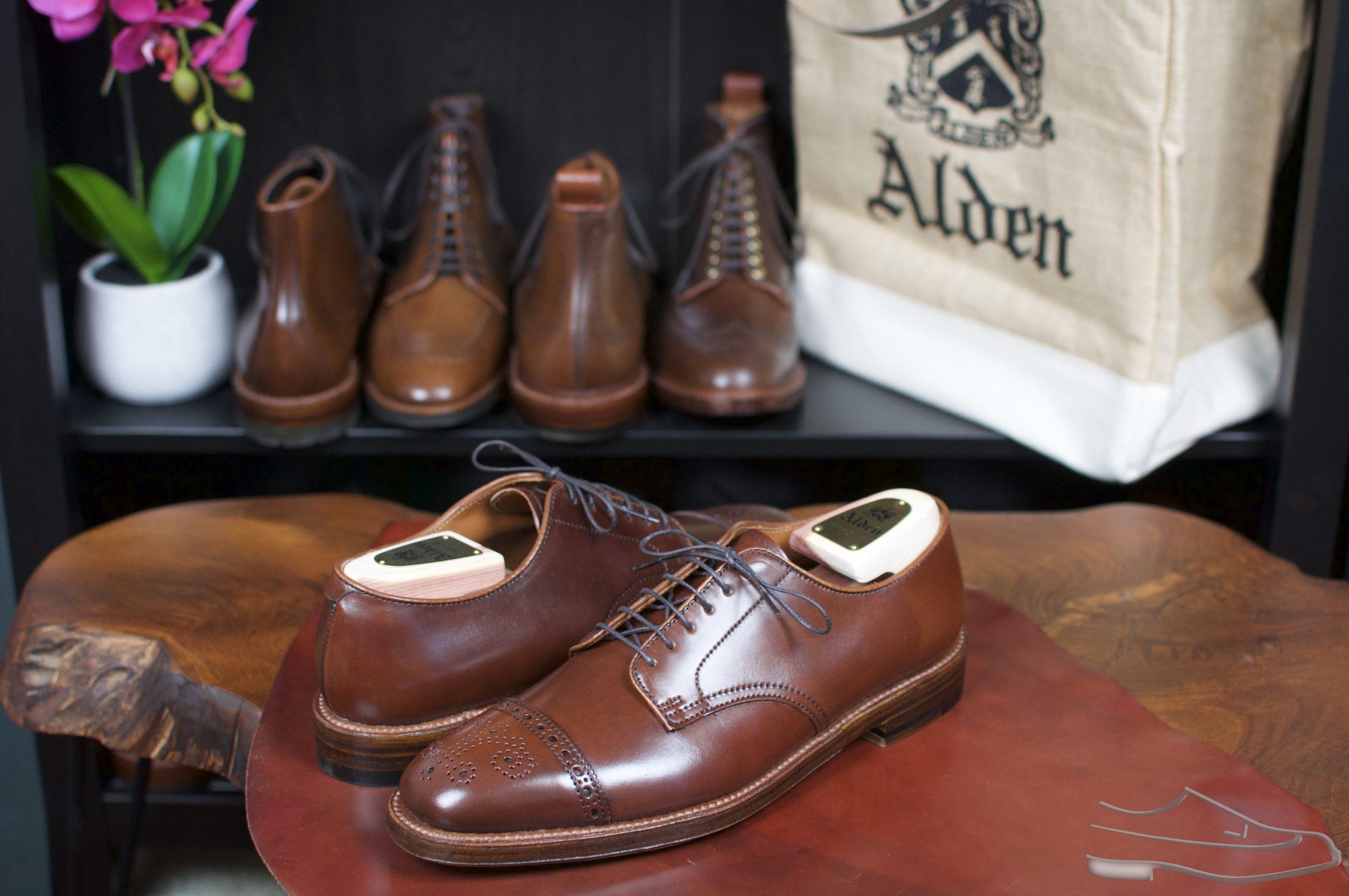Alden Color #4 MCT Bluchers