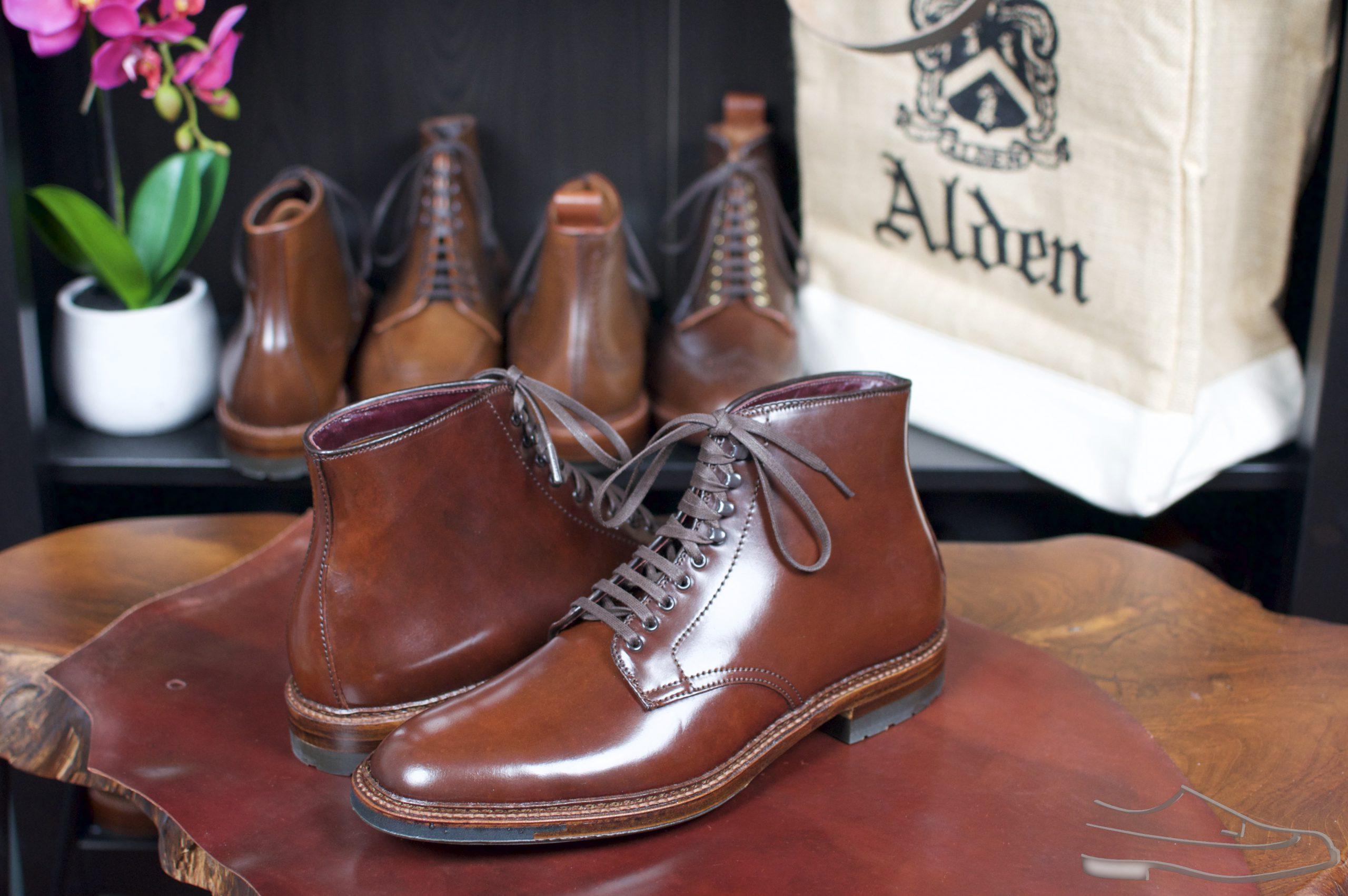 Alden Color #4 PT Boots