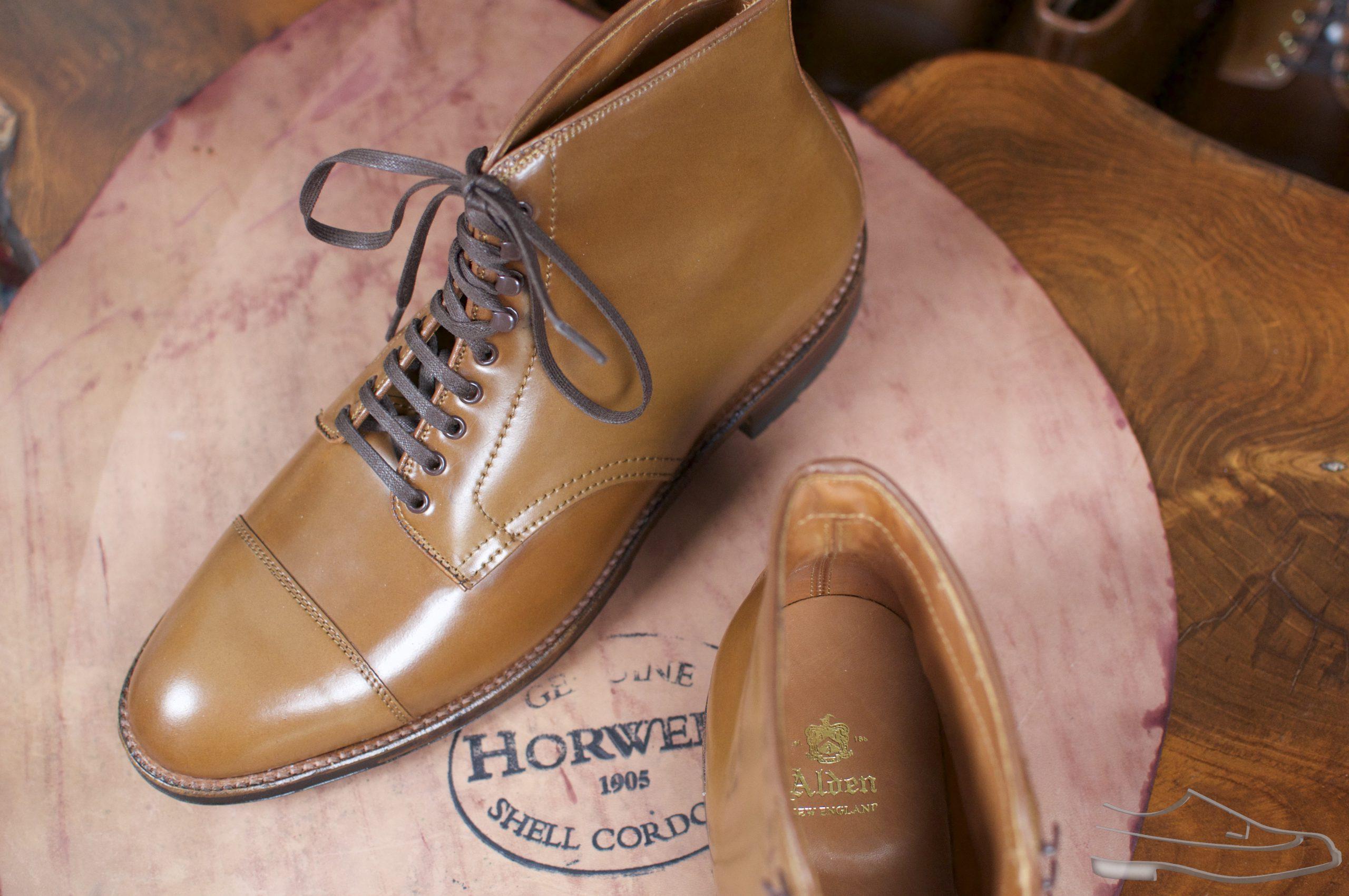 Alden Whiskey CT Boot